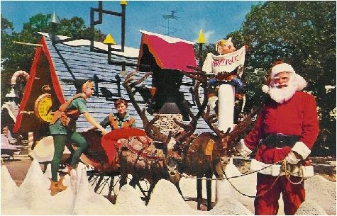 santas village north pole santa claus and santas sleigh - Santa At The North Pole